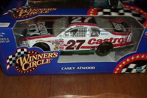 CASEY ATWOOD #27 CASTROL NASCAR WINNERS CIRCLE 2000 1:24 (17)