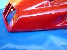 Ducati 748 Heck mit Lackschäden_Verkleidung_Cover_Heckteil_Fairing_Sitzbank_Seat