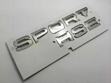 RANGE Rover SUPERPOTENTE ROSSO SPORT OVAL POSTERIORI PORTELLONE BADGE