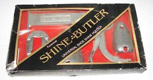 FOREMOST Wall Mount SHINE BUTLER Universal Shoe Shine Holder NIB
