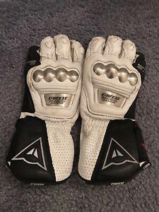 Dainese Full Metal Motorbike Racing Gloves,Size S
