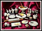 Servizio da Cucina in Marmo Bianco Mortaio Piatti Centrotavola Marble Tableware