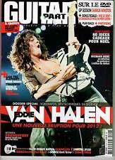 "GUITAR PART #213 ""Eddie Van Halen,Tinariwen,Ryan Adams,C.Winston,Gere"" REVUE+DVD"