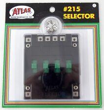 atlas model railroad \u0026 train control accessories for sale ebayho n scale trains atlas 215 selector