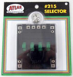 Atlas Model Railroad #215 Selector