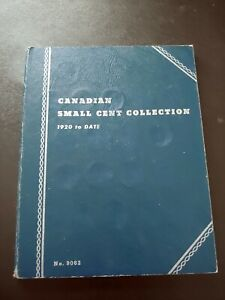 Nice Canadian Small Cent Collection (1920-1964)   (Lots of High-Grade Coins)