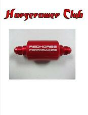 Redhorse AN6 In-Line Fuel Filter Red 4151-06-3