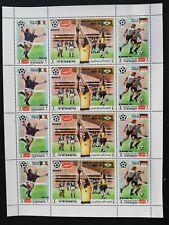 Yemen Kingdom -Football-Mexico 68-,4x3StIn M/Sh.YK 064