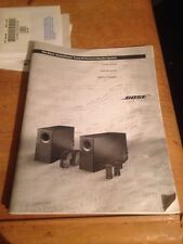ORIGINAL BOSE ACOUSTIMASS 5 SERIES III SPEAKER SYSTEM SERVICE MANUAL 25 Page