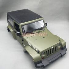 RC 1/10 SCALE ROCK TRUCK HARD PLASTIC BODY SHELL JK JEEP WRANGLER RUBICON BODY