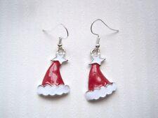 Alloy Hook Enamel Silver Plated Costume Earrings