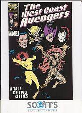 West Coast Avengers  #16  NM-