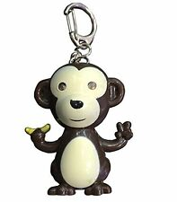Cute Monkey LED Keyring Torch With Light & Sound-Best X-mas Gift Idea-Bag Filler