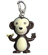 Cute Monkey LED Keyring Torch With Light & Sound-Best X-mas Gift Idea-Bag Filler