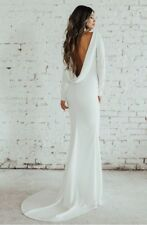 Noel And Jean by Katie May Draped Back Gown, Size 14