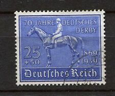 German Reich WW II : German Derby stamp from 1939 - used