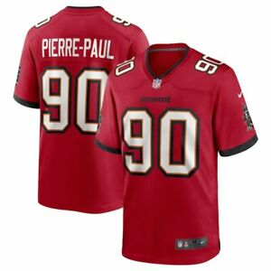 New 2021 NFL Jason Pierre-Paul Tampa Bay Buccaneers Nike Game Player Jersey NWT