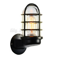 LED Retro Wandleuchte Antike Vintage Industrial Laterne Wandlampe Beleuchtung