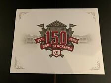 150th Cincinnati REDS 2019 Season Ticket Member Gift Lithograph/Print NEW