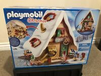 Playmobil #9493 Christmas Bakery with Cookie Cutters - New!
