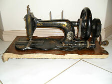 RARE ANTIQUE - c,1875-1898 - HUGO WERTHEIM HAND / TREADLE SEWING MACHINE