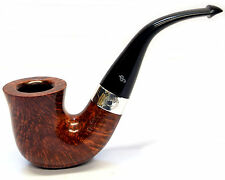 Peterson Sherlock Holmes Original Pipe Smooth Silver Mounted with Free Pipe Tool
