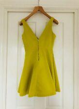 mustard yellow Zara dress
