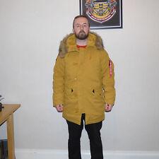 Zip Hooded Alpha Long Coats & Jackets for Men