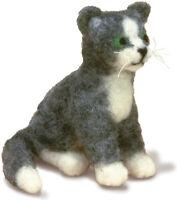 Dimensions Cat Felt Animals Needle Felting Kit, 3.5'' x 4''