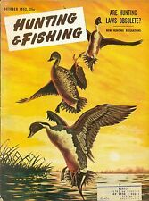 Hunting and Fishing--Oct. 1952-----388