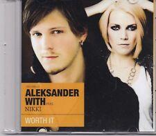 Aleksander With Nikki-Worth It Promo cd single