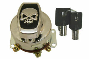 Fat Bob Ignition Switch with 6 Terminals for Harley Davidson by V-Twin