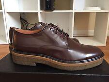 Dries Van Noten Patent Leather Brown Derby Oxford 39.5 NiB $710