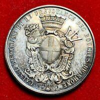 #5279 - Médaille en Argent poinçon en Argent Le conseil de direction