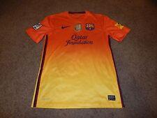 Lionel Messi #10 Fifa Barcelona Nike Dri Fit World Champions 2011 Patch Qatar S