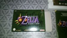 The Legend of Zelda: Majora's Mask en boite nintendo 64