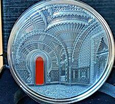 """Palau 2018 Tiffany Art """"Orientalism Art"""" 2 Oz Silver Coin."""