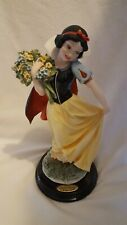 Giuseppe Armani Snow White w/ Flowers Retired w/ Box Leading Ladies Collection