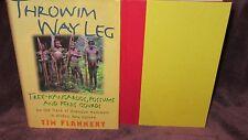 THROWIM Way Leg ~ Tim FLANNERY. Tree Kangaroos, Possums  1st HbDj  in MELB!