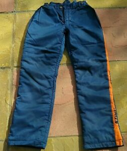 Stihl Chainsaw Trousers Class 1 All round protection Good Condition