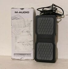 More details for m-audio ex-p expression pedal midi keyboard controller + supports guitar effects