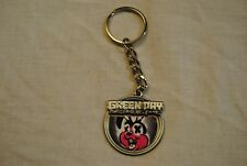 More details for green day awesome as f**k bunny cross eyes metal keychain keyring new official