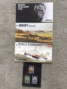 Jersey stamps unmounted mint - Wildlife Preserve/Fortresses/Jersey Royals/RNLI