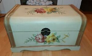 Large Hope Chest Keepsake Box or Small Wooden Storage Chest  / Trunk
