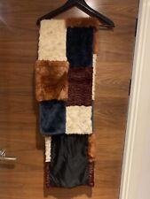 Topshop faux fur shawl/wrap