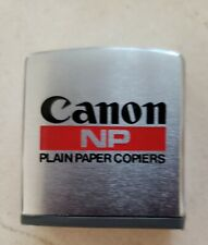 Collectible Small Canon Metal 7 Foot Tape Measure NP Plain Paper Copiers