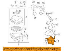 Pontiac GM OEM 09-10 Vibe Air Cleaner Intake-Resonator Duct Tube Hose 88975811