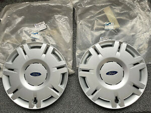 """NEW GENUINE FORD MONDEO MK3 WHEEL TRIMS X2 NOS FOR 16"""" WHEELS # 1207760"""