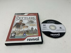 THE SETTLERS V 5 Heritage Of Kings Pc DVD Rom TESTED