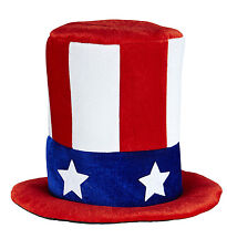 Lo Zio Sam MR AMERICA USA Film INDIPENDENCE DAY Fancy Dress Top Hat